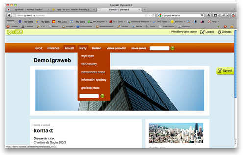 Demo_igraweb_browser